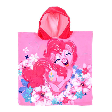 Accappatoio Poncho Bambina My Little Pony Pinkie Pie Fucsia/Rosa