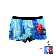 Costume boxer mare/piscina Bambino Spiderman Marvel Nero