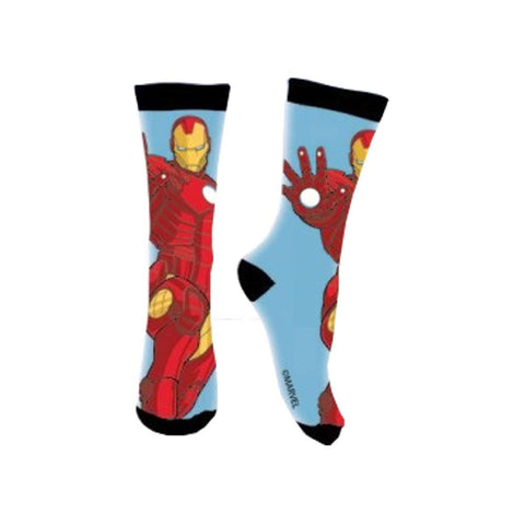 Calze lunghe Bambino Marvel Avengers Azzurre/Nere Iron Man