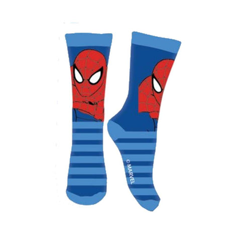 Calze lunghe Bambino Spiderman Marvel Azzurre