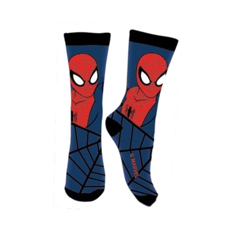Calze lunghe Bambino Spiderman Marvel Blu