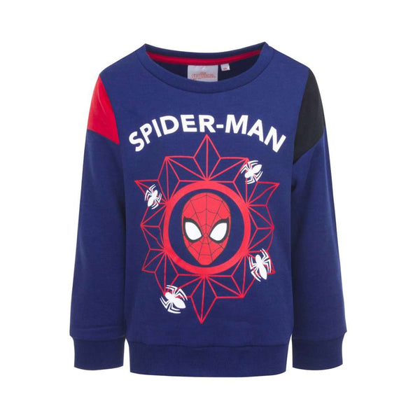 Felpa Spiderman Blu