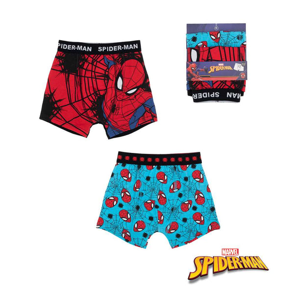 2 Pack Boxer Spiderman