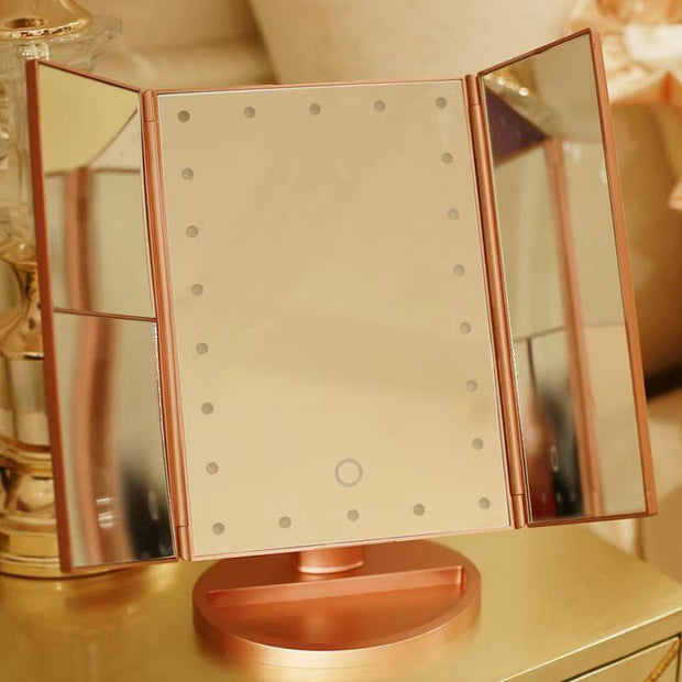 Folding Make-up Mirror with Light
