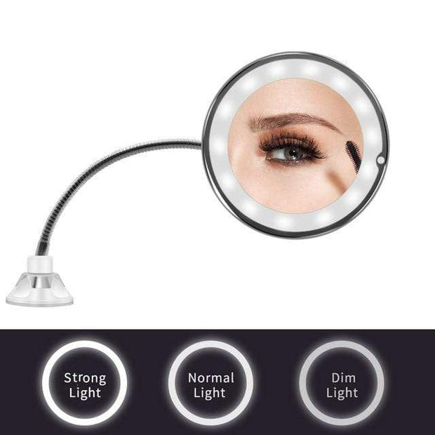 LED Makeup Vanity Magnifying Mirrors