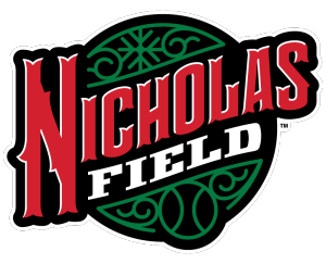 Nicholas Field logo — Home of Reindeer Baseball