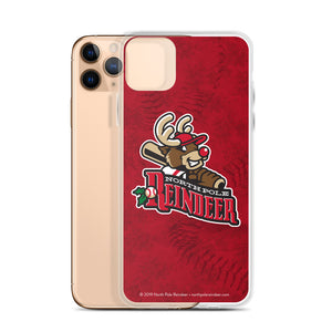 North Pole Reindeer logo iPhone case