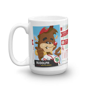 Rudolph Baseball Card mug (15 oz)