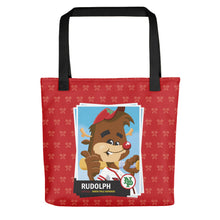 Load image into Gallery viewer, Rudolph Baseball Card Tote bag