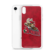 Load image into Gallery viewer, North Pole Reindeer logo iPhone case