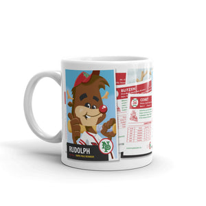 Rudolph Baseball Card coffee mug (11 oz)