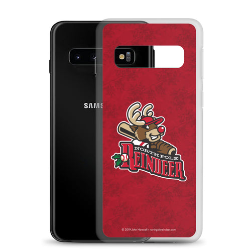 North Pole Reindeer logo Samsung phone case (S7, S7 Edge, S10, S10 plus, S10e)