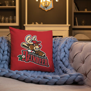 North Pole Reindeer Logo Premium Pillow