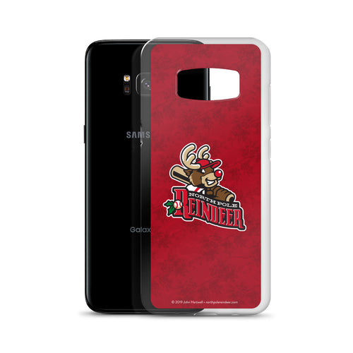North Pole Reindeer logo Samsung phone case (S8, S8 plus)