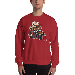 North Pole Reindeer Logo Unisex Sweatshirt