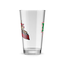 Load image into Gallery viewer, North Pole Reindeer Logo Pint Glass
