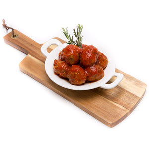 Beef Meatballs with Tomato Sauce (4 Pieces) - La Marguerite