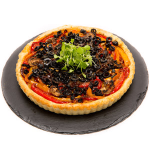 Black Olive Pizza (9 Inch) - La Marguerite