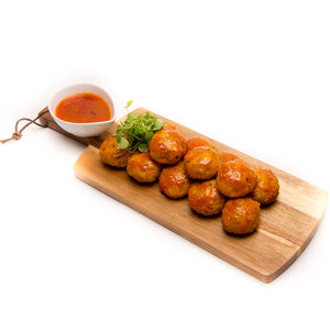 Fishballs in Tomato Sauce (4 Pieces) - La Marguerite