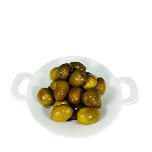 Jumbo Green Olives 1 Lb.  Container La Marguerite