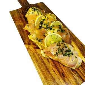 Lemon Cilantro Boneless Chicken Thighs 22 Oz. (4 Pieces) - La Marguerite
