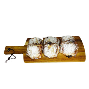 Mini Almond Chocolatines (6 Pieces) - La Marguerite