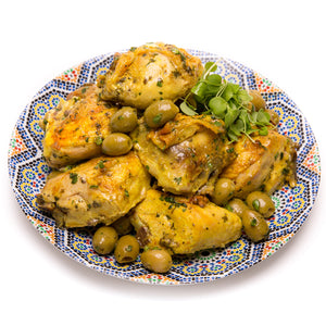 Olive Chicken Tagine (1/4 Chicken) - La Marguerite