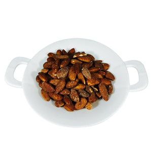 Smoked Almonds 1 LB. Container La Marguerite