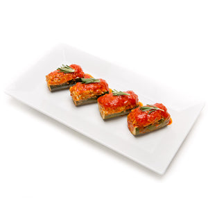 Stuffed Zuchini Boats (2 Pieces) - La Marguerite