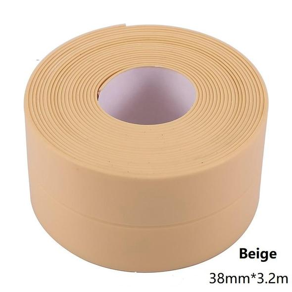 Professional Self-Adhesive Caulk Strip - 【 Anti-Mildew Tape】10.5ft - wallazay