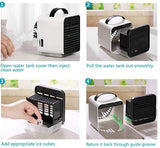 Mini Negative Ion air Conditioning Fan Air Cooler  (with night light mode)