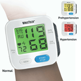 Color Changing Blood Pressure Monitor