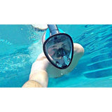 DiveLungs - Full Face Snorkel Mask - wallazay