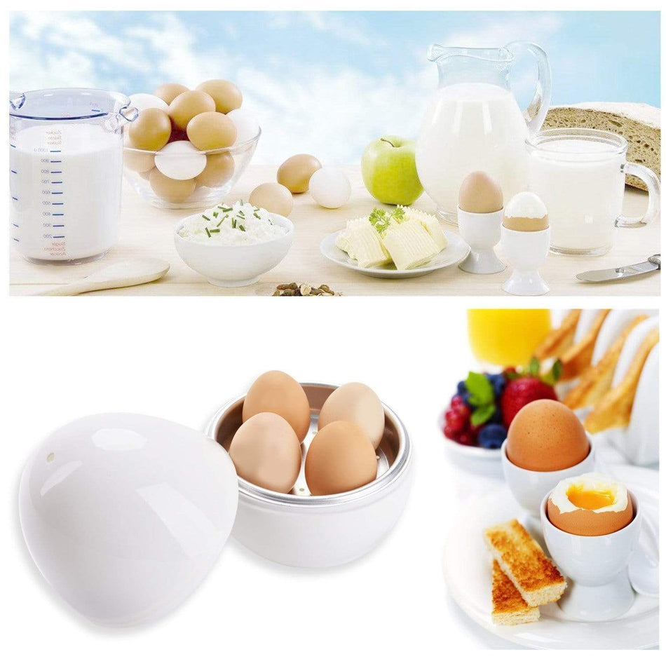 Microwave Hard Boiled Egg Cooker