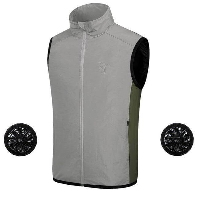 Air Conditioned Cooling Jacket Ice Vest