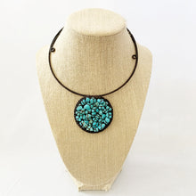 Load image into Gallery viewer, Beaded Turquoise Necklace