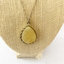 Load image into Gallery viewer, Yellow Pendant Necklace