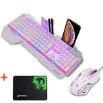 XINMENG Waterproof Mechanical Backlit Keyboard - Stand Hut