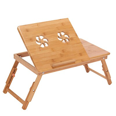 Actionclub Nature Bamboo Laptop Table - Stand Hut