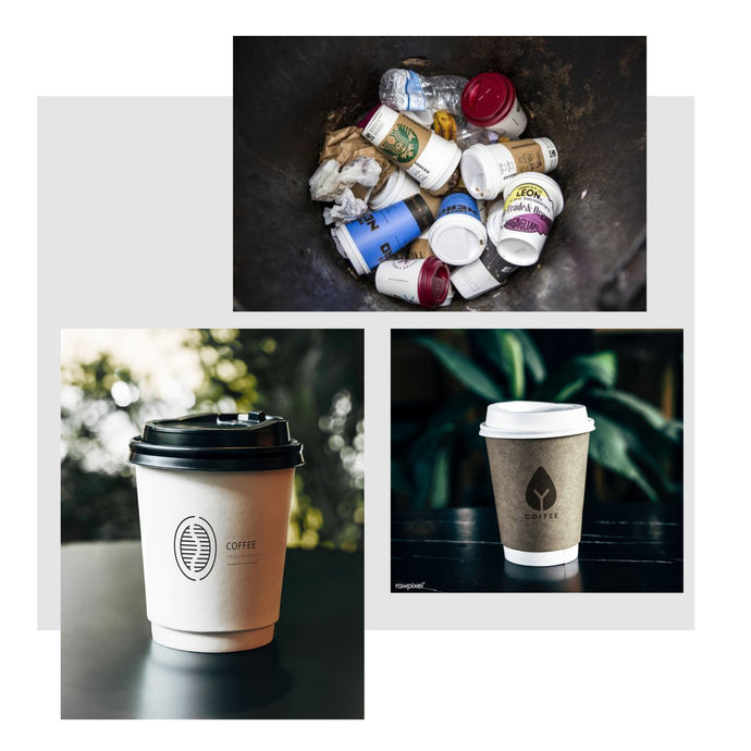 WHY CAN'T YOU RECYCLE DISPOSABLE COFFEE CUPS?