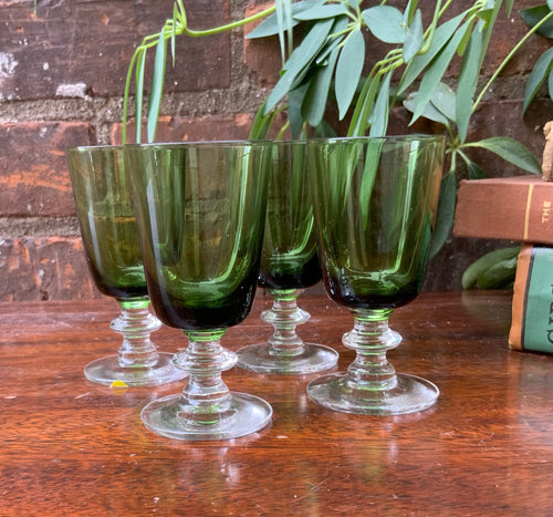 Emerald Green Sipping glasses