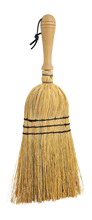 Load image into Gallery viewer, Rice Straw Hand Brush with Wooden Handle
