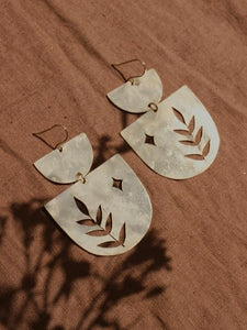 Las Plantas Sagradas Earrings
