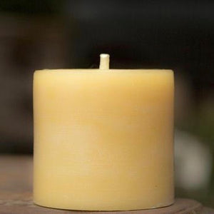 Beeswax 3x3 Pillar Candle