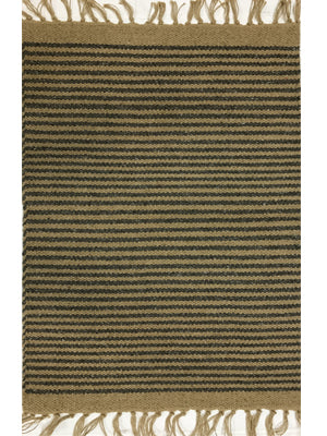 Cotton and Jute Rug Dark Grey