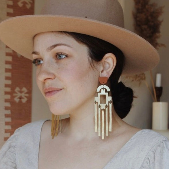 La Alma Antiqua Earrings