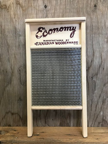 BACK IN STOCK SOON! Economy Glass Washboard (large)