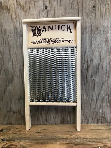 Canuck Metal Washboard  (large)
