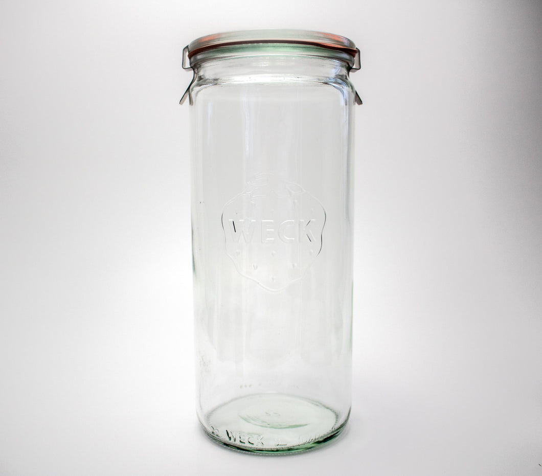 Weck Cylindrical Jar 1L