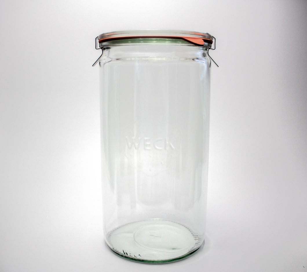 Weck Cylindrical Jar 1 1/2L